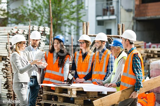 istock Construction workers 679524390