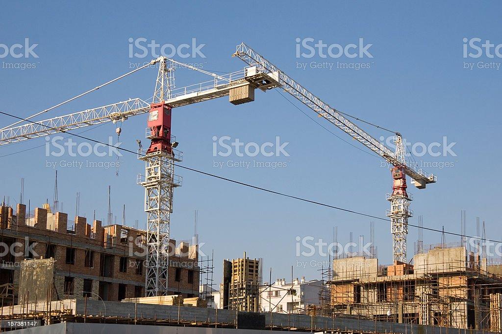construction yard royalty-free stock photo
