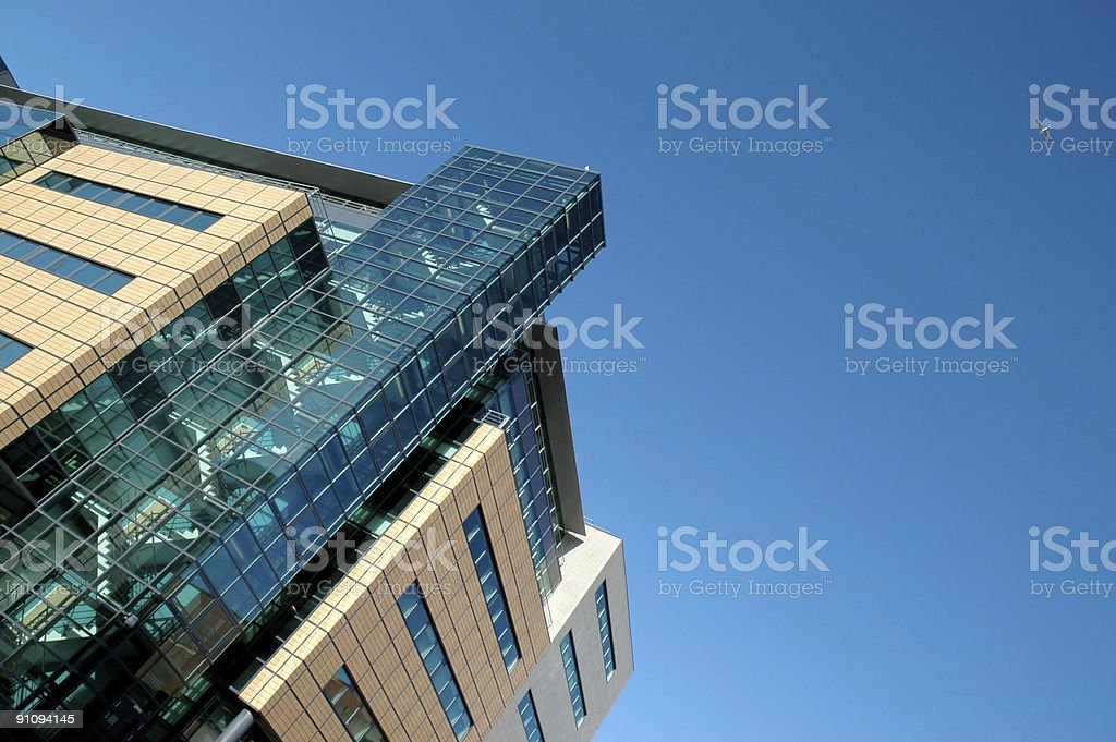 Constructions and modern buildings or skyscrapers royalty-free stock photo