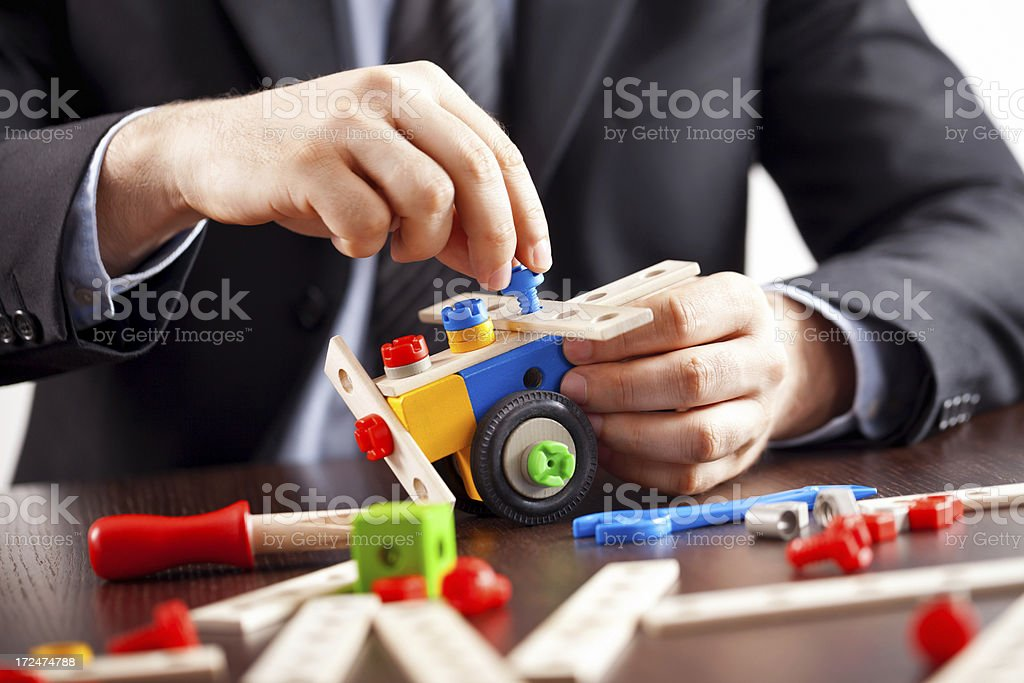 Constructor royalty-free stock photo