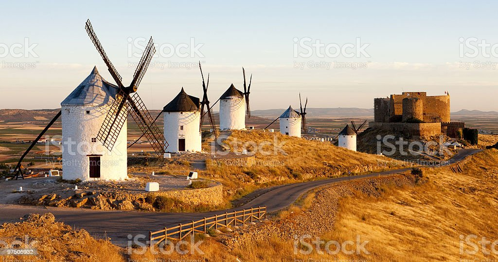 Consuegra royalty-free stock photo