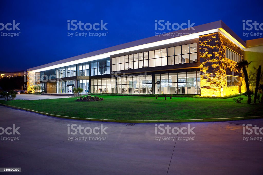 Consultant Office Building stock photo