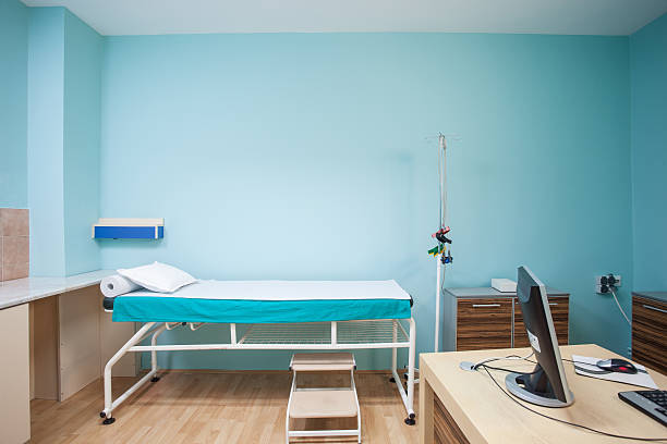 Consulting room stock photo