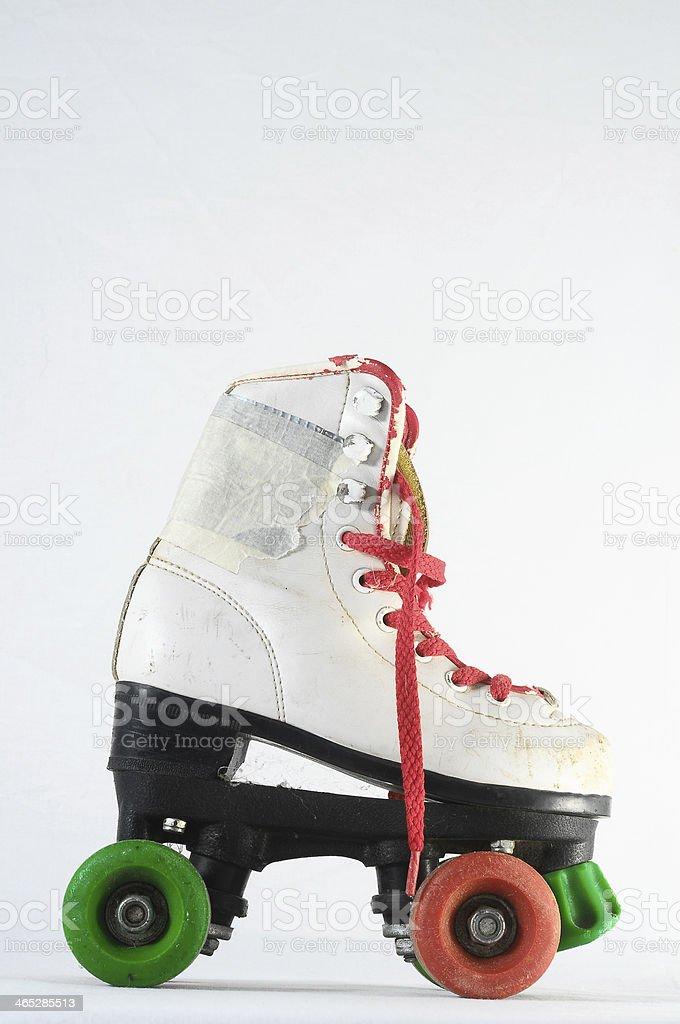 Consumed Roller Skate stock photo