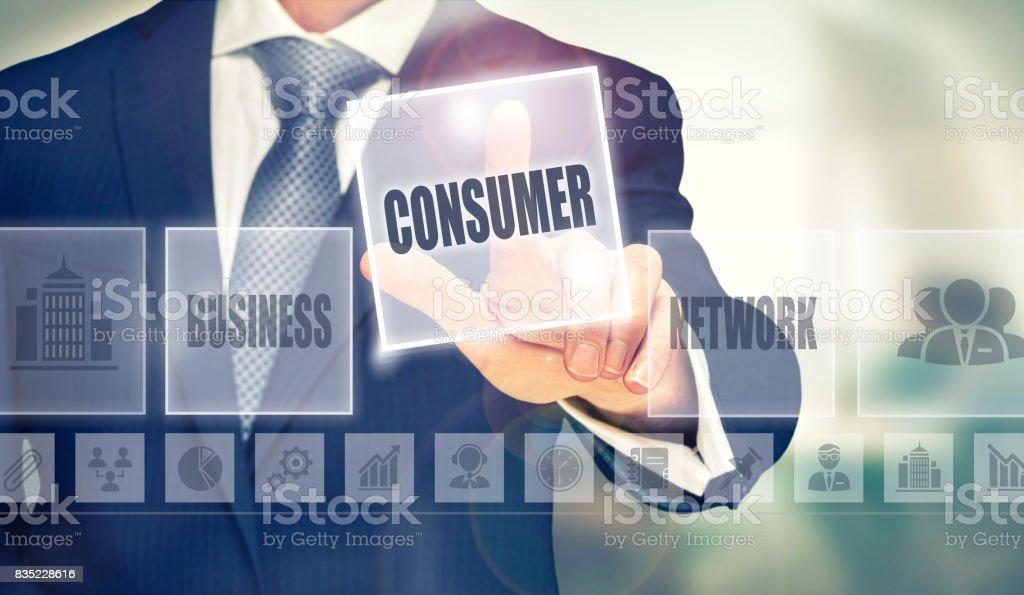 Consumer Concept stock photo