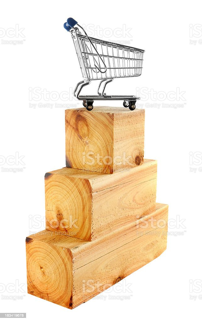 Consumer Pedestal royalty-free stock photo