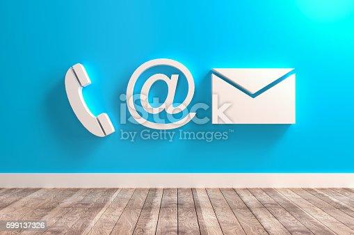 istock Contact Info Symbols 599137326