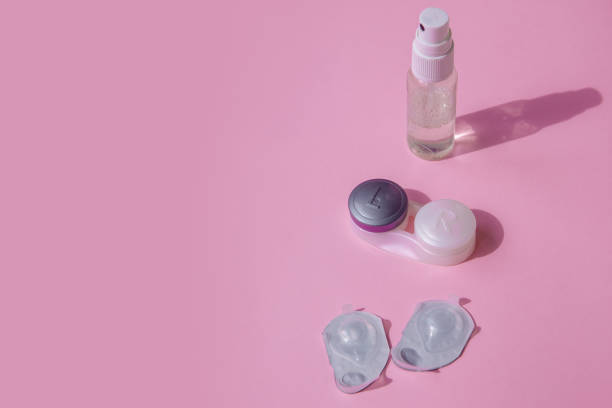 Contact lens kit the pink table is a spray for disinfecting hands picture id1223439160?b=1&k=6&m=1223439160&s=612x612&w=0&h=nfcgau8vttzllcmmqdyjvull3ztlu6h0cy qc7o4m0i=