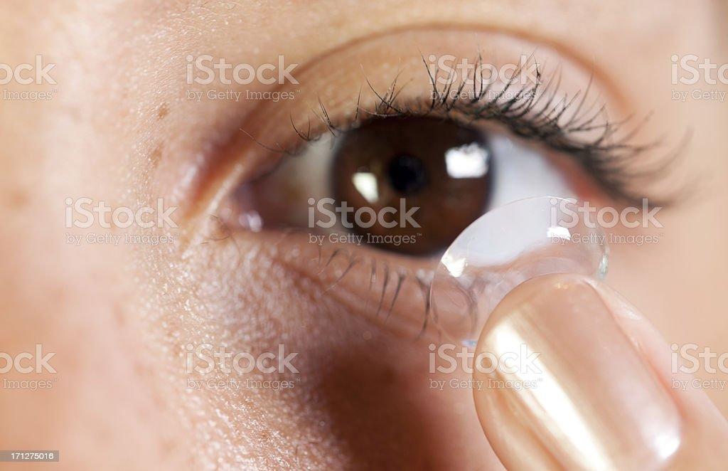Contact lens foto