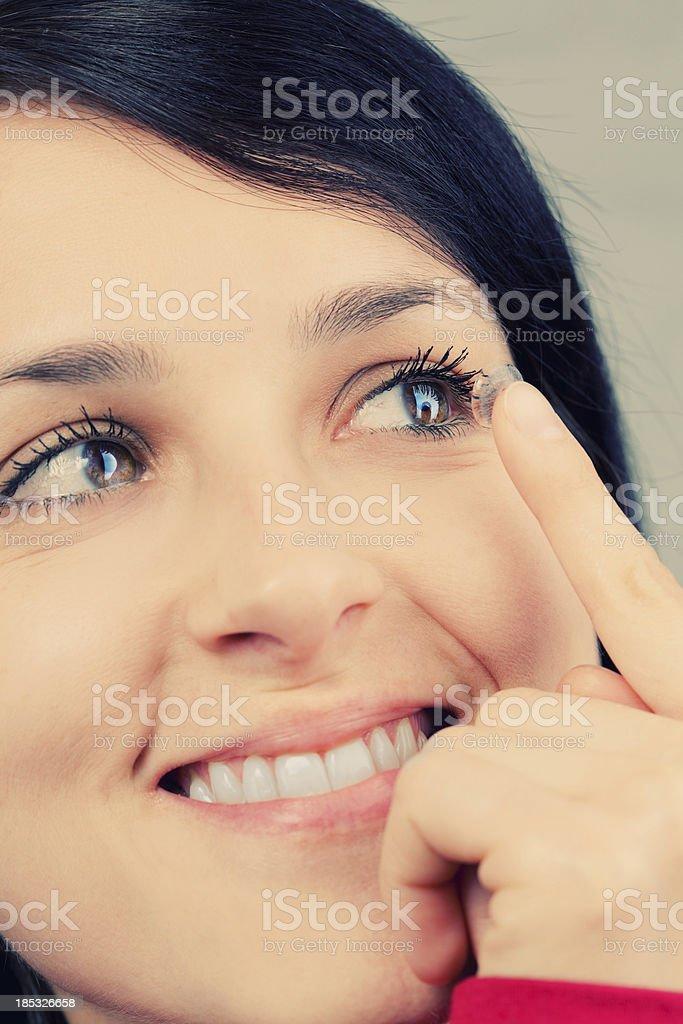 Kontaktlinsen – Foto
