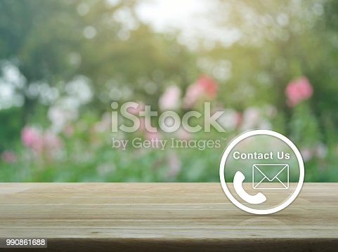 istock Contact us concept 990861688