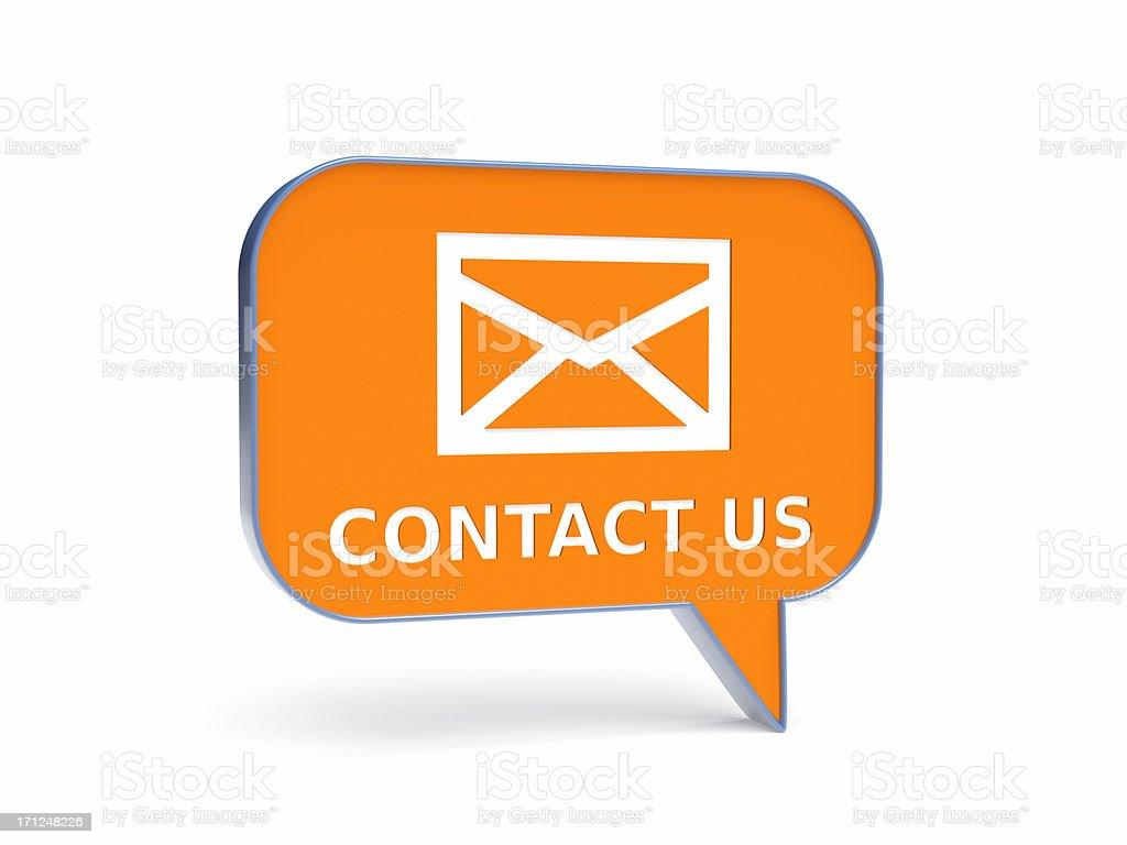 Contact Us XL+ stock photo