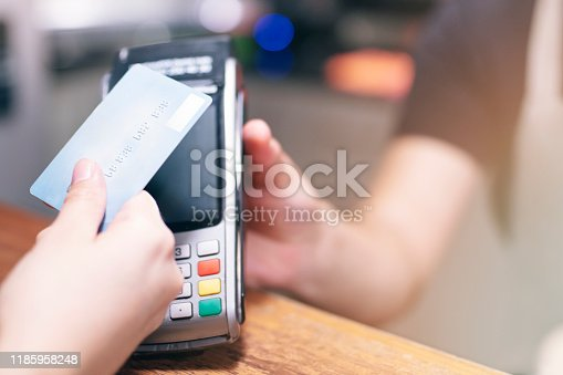 178974134istockphoto Contactless Card Payment 1185958248