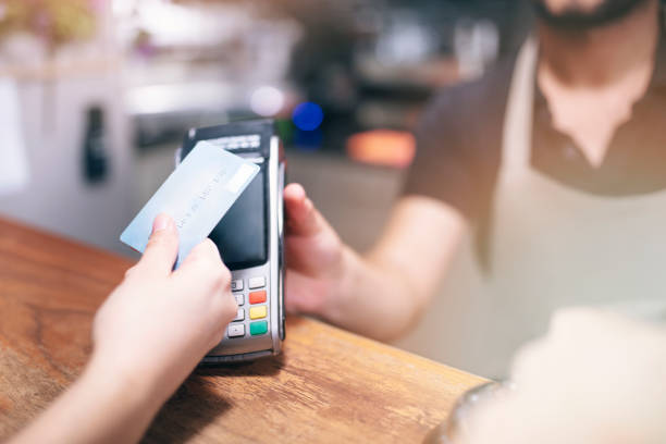 Kontaktlose Kartenzahlung – Foto