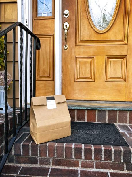 Kontaktlose Home Delivery – Foto