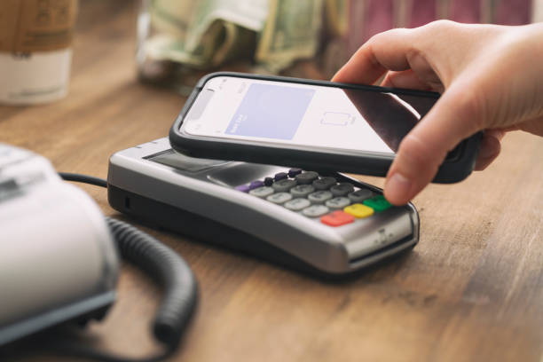 contactless payment - coronavirus has increased demand for contactless payment - mphillips007 stock pictures, royalty-free photos & images