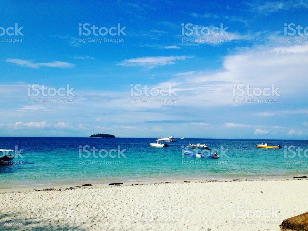Contadora Island - Panama - Royalty-free Ao Ar Livre Foto de stock