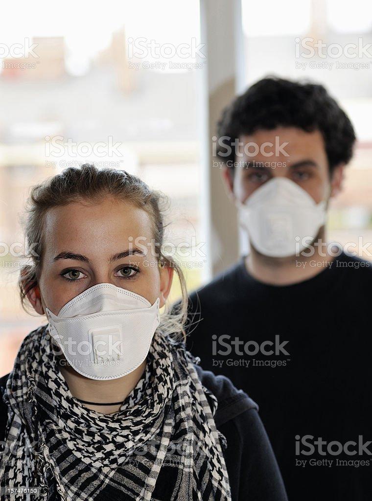 Contagious flu royalty-free stock photo