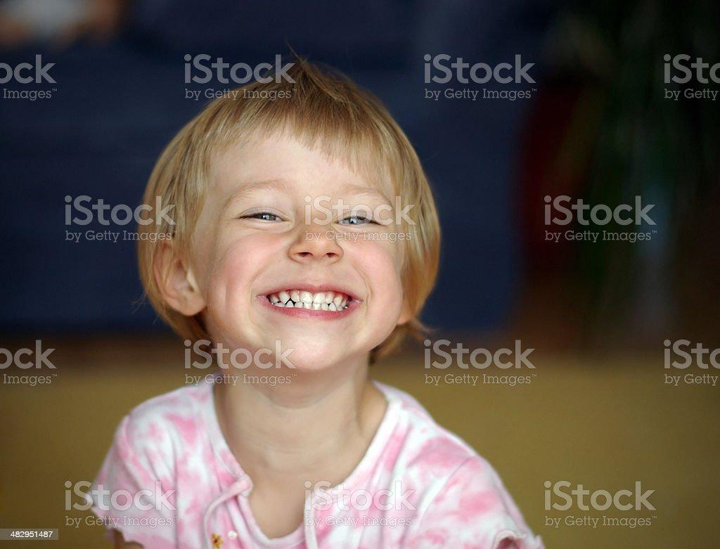 Contagious smile royalty-free stock photo