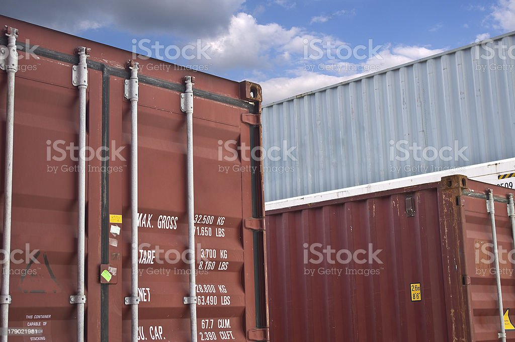 container box royalty-free stock photo