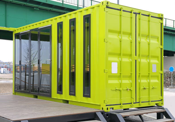 Container Conversion stock photo