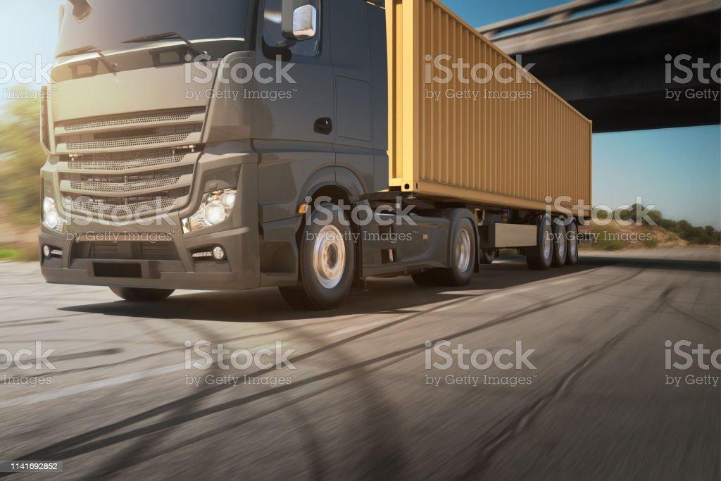 Containerlieferung – Foto
