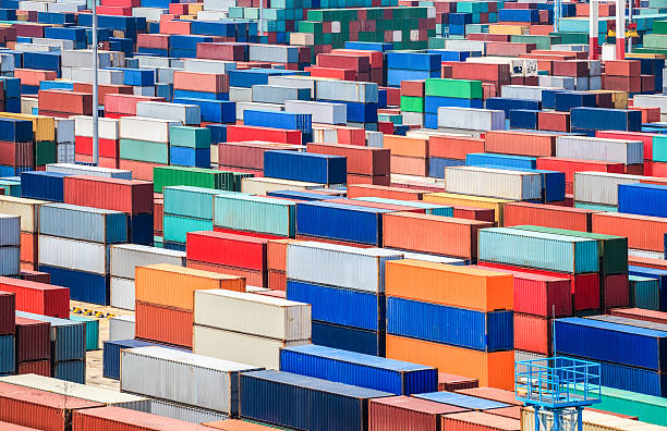 container depot in-terminal – Foto