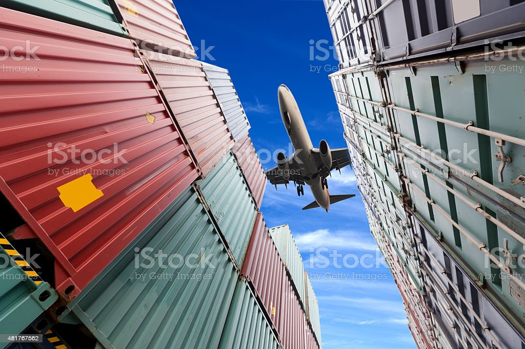 Container Logistics stock photo