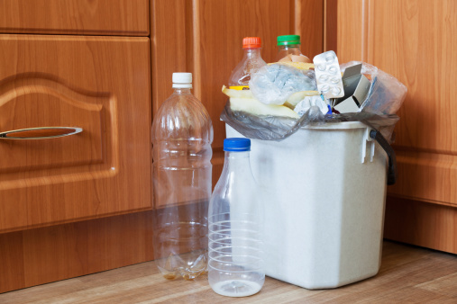 Container Of Kitchen Stock Photo - Download Image Now