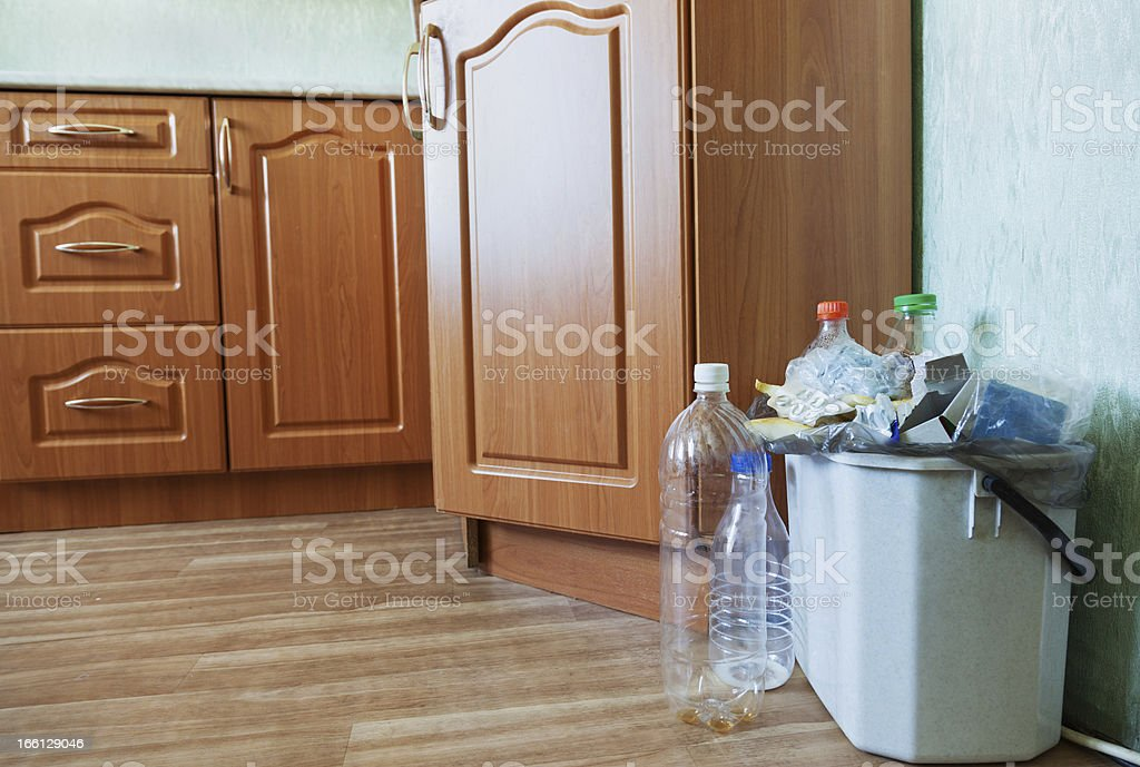 Container of kitchen stock photo