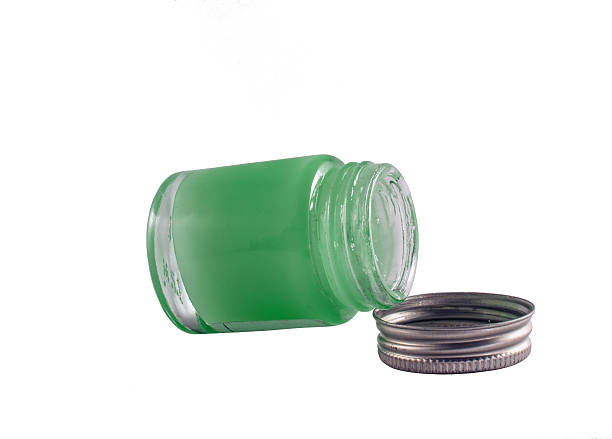 container of ointment - tempera painting stock pictures, royalty-free photos & images