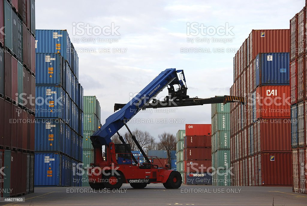 Container royalty-free stock photo