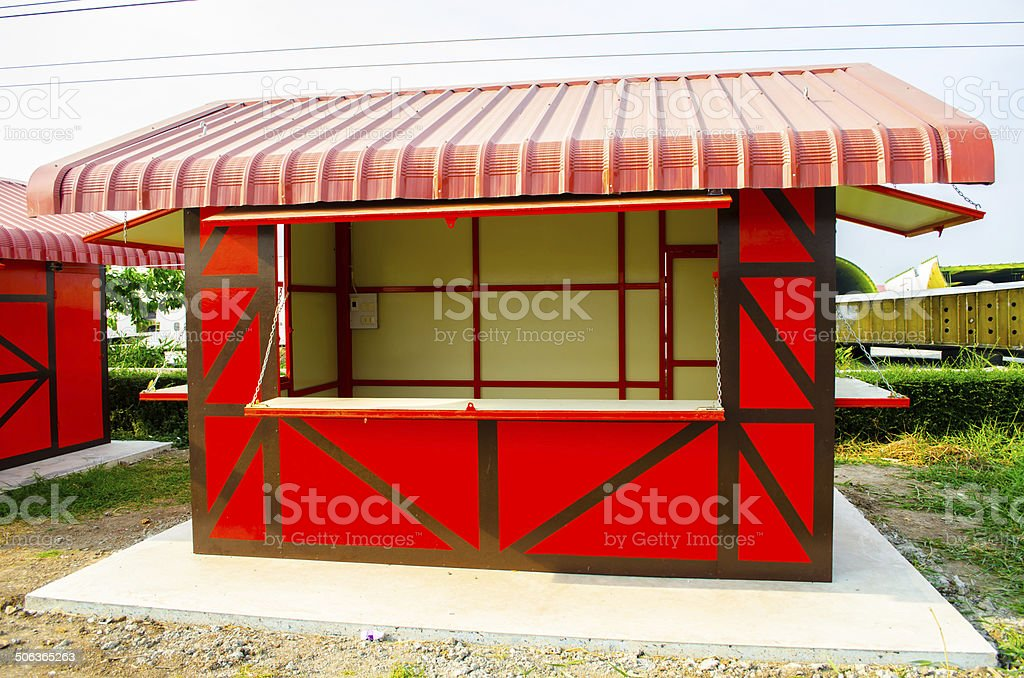 Container sales stock photo