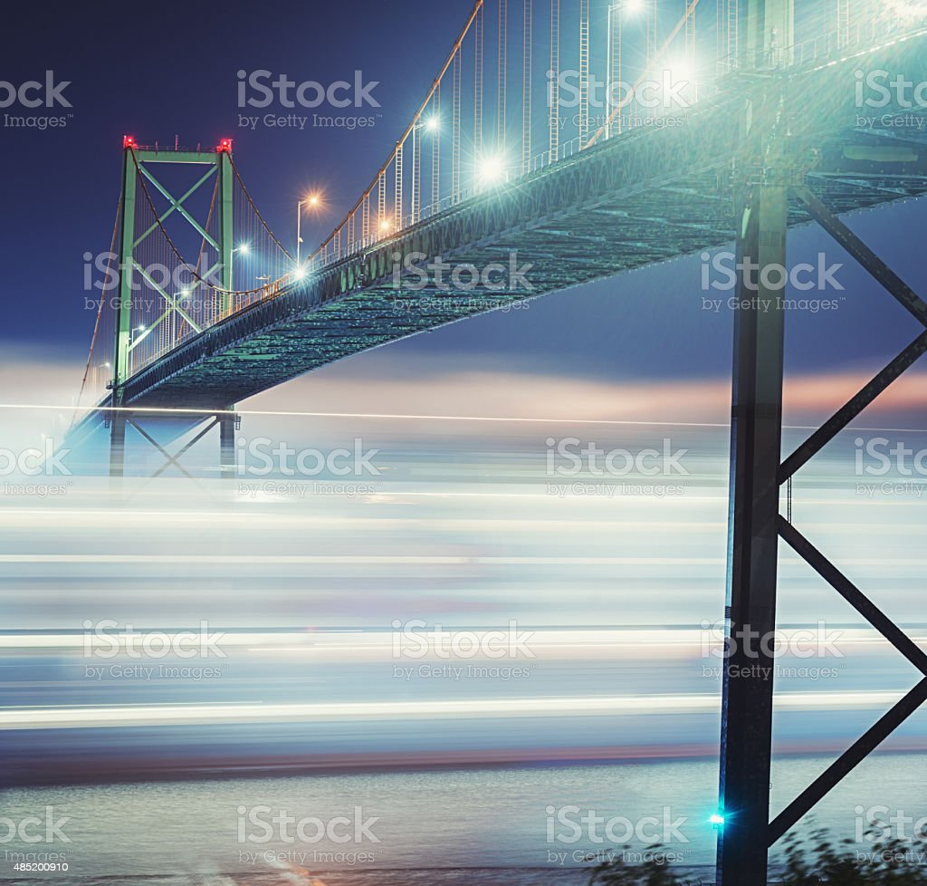 Container Ship Blur stock photo