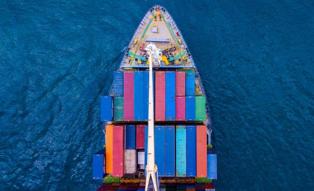 集裝箱船博 - 船運 個照片及圖片檔