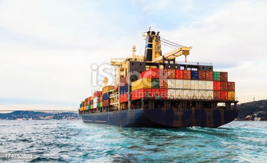 istock Container ship 174753899