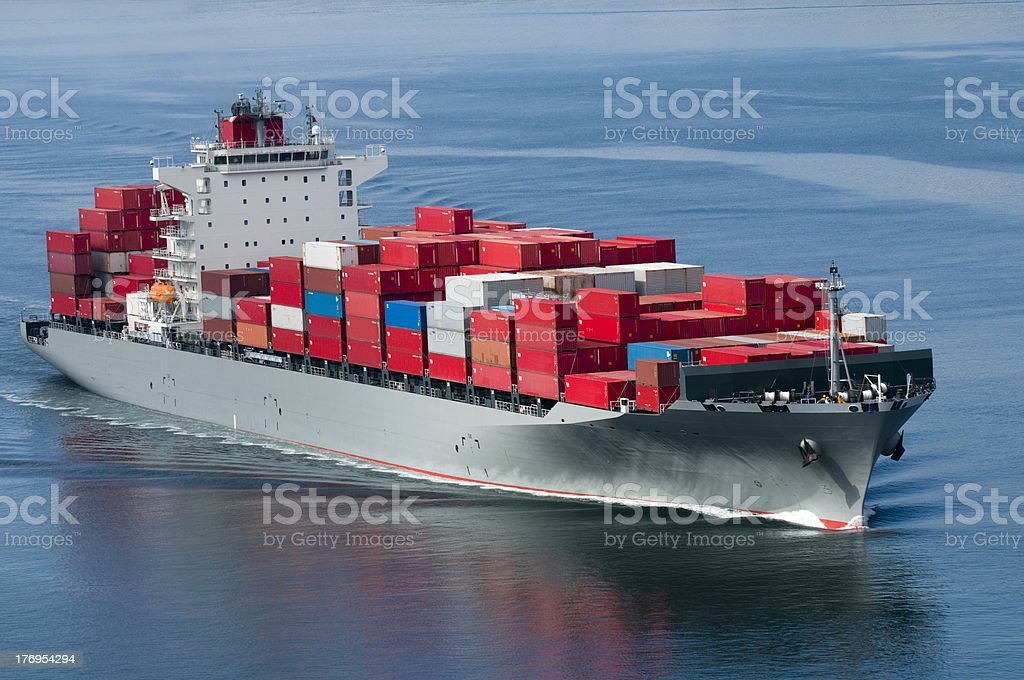 Container Ship royalty-free stock photo
