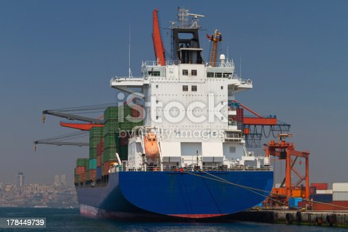 istock Container Ship 178449739