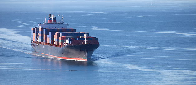 Container Ship Stock Photo - Download Image Now