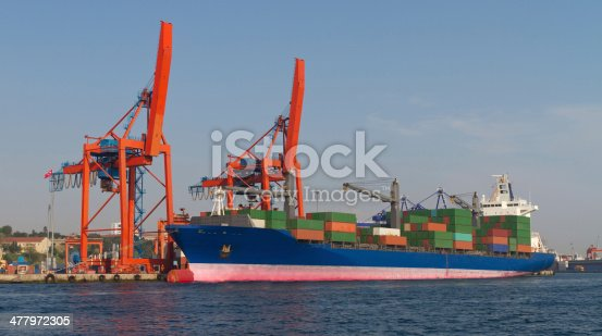 istock Container Ship 477972305