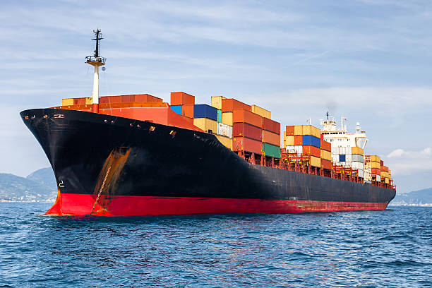 container ship container ship container ship stock pictures, royalty-free photos & images