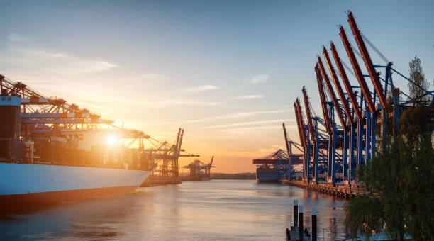Containerterminals – Foto