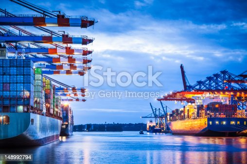 istock Container Terminal 148992794
