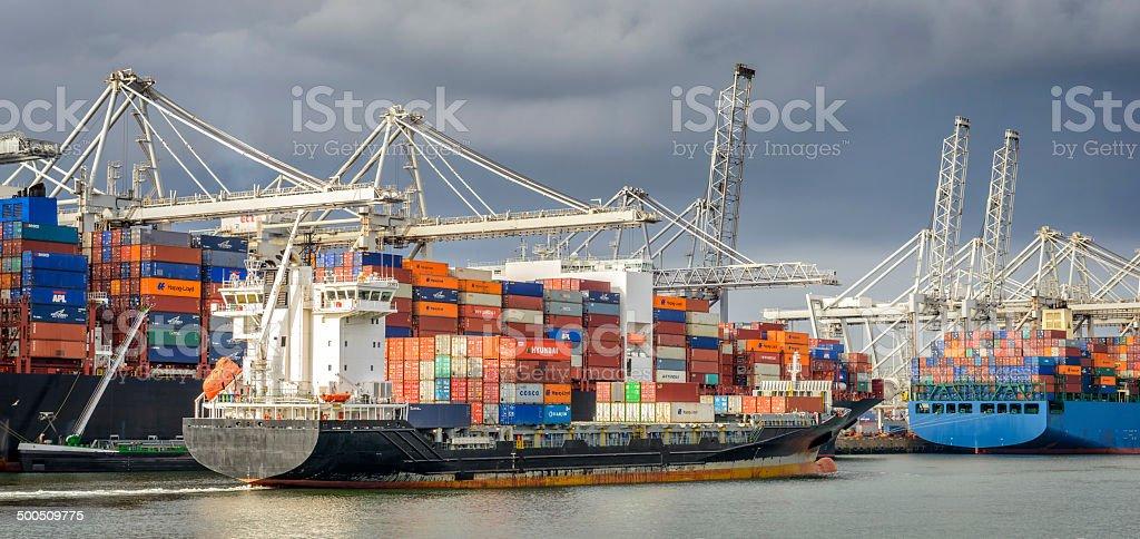 Container terminal foto