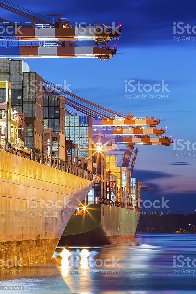 Container-Terminal – Foto