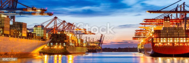 istock Container Terminal 508272591