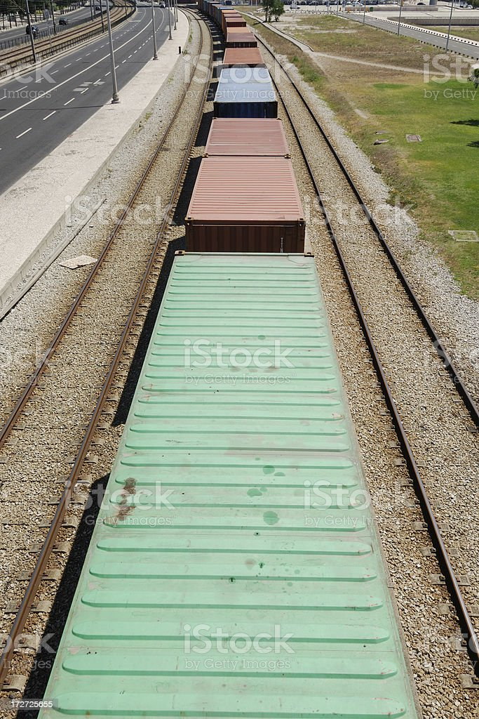 Container Transport royalty-free stock photo