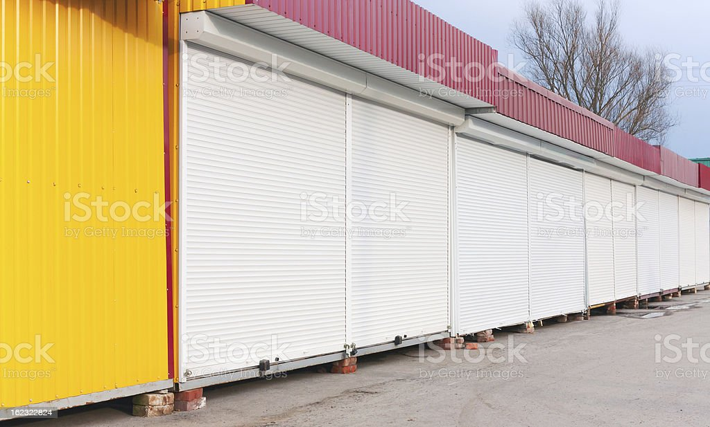 Containers royalty-free stock photo