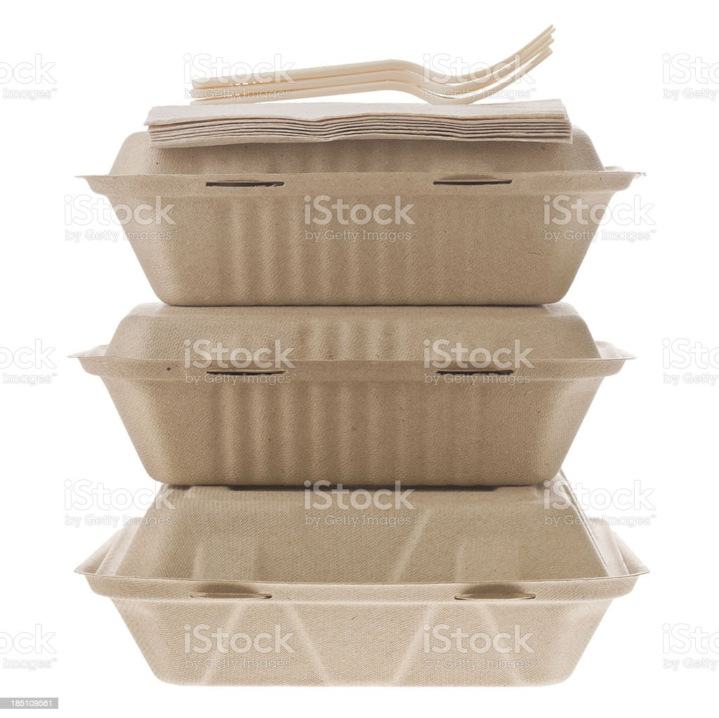 Containers To Go stock photo