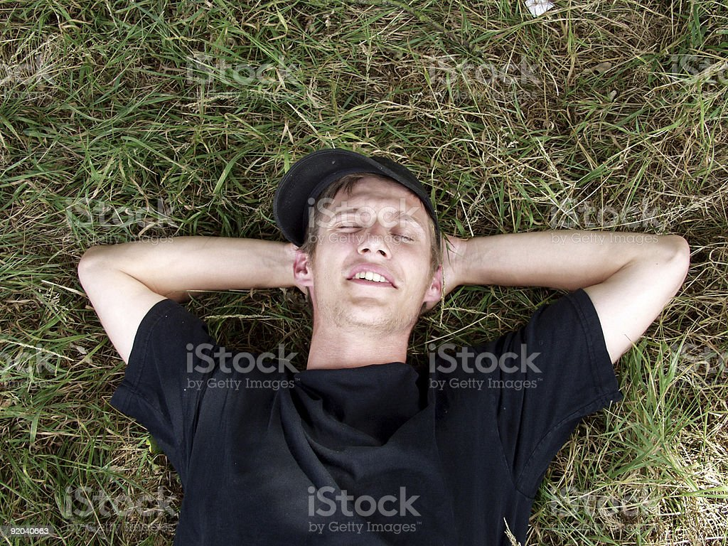 Contemplating Life. royalty-free stock photo